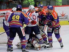 Oproti prvnímu semifinálovému střetnutí se třebíčští hokejisté vyvarovali zbytečných faulů a v oslabení neinkasovali. Sami navíc dvakrát udeřili v početní výhodě a zaslouženě vyhráli.