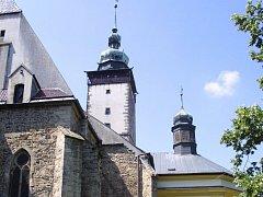 Kostel sv. Jakuba.