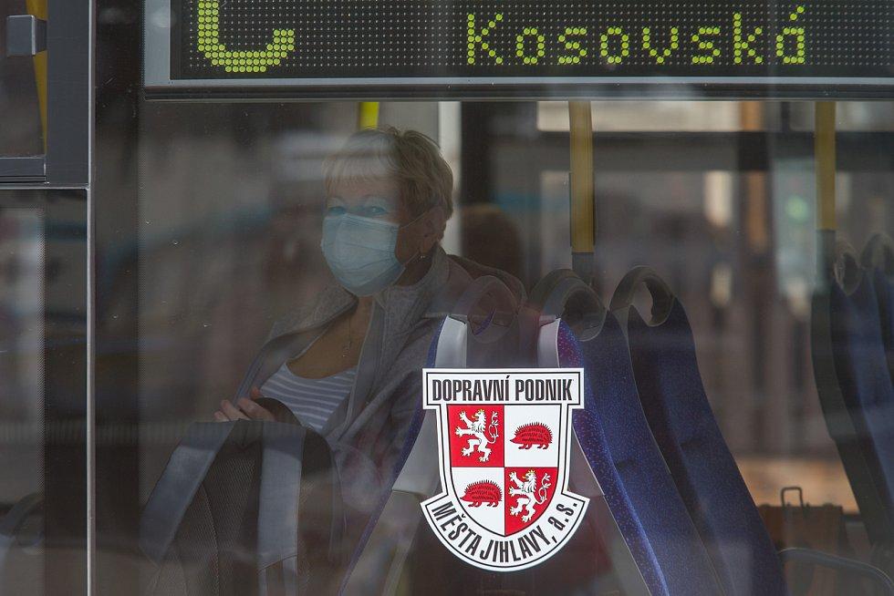 Jihlavská MHD.
