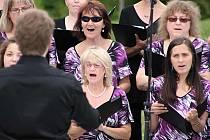 Sobotní odpolední koncert v Parku Gustava Mahlera.