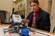 Robot na jihlavské průmyslové škole
