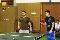 Vánoční turnaj ve stolním tenise se hraje v Jihlavě tradičně.