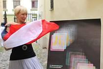 Pod širým nebem v Malé Lazebnické ulici, kde se nachází galerie Nonstrop, byl včera slavnostně odtajněn plakát nadcházejícího dokumentárního festivalu.