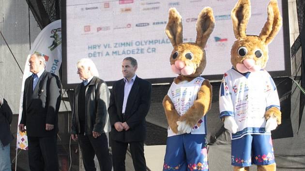 Maskot olympijských her je sportovní nadšenec, do všeho jde s maximálním nasazením a vervou.
