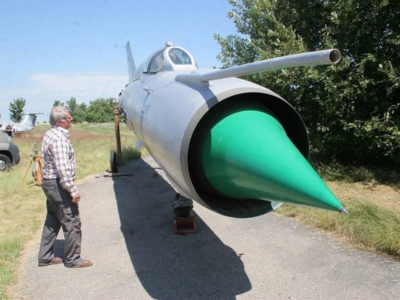 Letecké muzeum Koněšín.