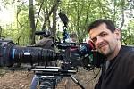 Kameraman Tomáš Drdácký.