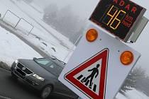 Nohu z plynu musí dát nově řidiči ve Velkém Beranově.