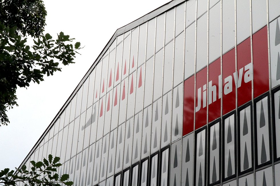 Horácký zimní stadion v Jihlavě. Ilustrační foto.