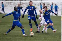 Zimní přípravné utkání mezi FC Vysočina Jihlava a FK Železiarne Podbrezová.