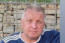 Fotbalový rozhodčí Milan Reich.