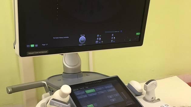 Nový ultrazvuk v jihlavské nemocnici.