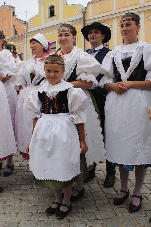 Srpnové slavnosti v Telči aneb Telč sobě.