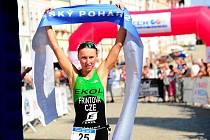Vendula Frintová potvrdila, že je českou triatlonovou jedničkou.