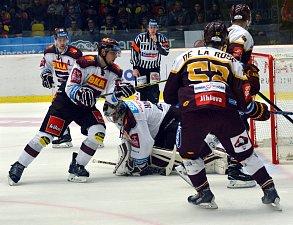 Utkání HC Dukla Jihlava proti HC Sparta Praha.