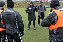 Fotbalisté FC Vysočina včera zahájili zimní přípravu.