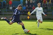 Vítězi i podruhé. Fotbalisté Vrchoviny dokázali i podruhé v sezoně porazit v prestižním souboji sousední Žďár.