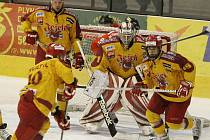 Jihlavští hokejisté nezvládli druhé prodloužení v řadě, a pokud chtějí s Olomoucí prodloužit sérii, musí dnes bezpodmínečně vyhrát.