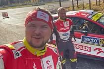 Na posledním letošním závodě WRC skončil jihlavský závodník Martin Prokop ve Finsku na čtvrté příčce.