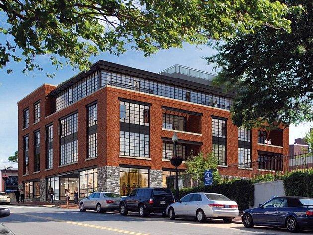 Z bytového komplexu bude výhled na vodní kanál, na řeku Potomac a okolí Georgetownu.