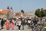 Nejstaršímu vozu na telčském náměstí bylo 107 let.