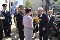 Prezident Miloš Zeman přijel na návštěvu Vysočiny.