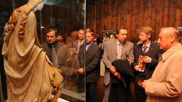 Muzeum Vysočiny Jihlava otevřelo ve středu novou výstavu s názvem Krásy středověké plastiky.