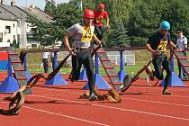 Atletický stadion Na Stoupách v Jihlavě hostil hasiče z Vysočiny a dalších tří krajů. Zápolili o Pohár Vysočiny.