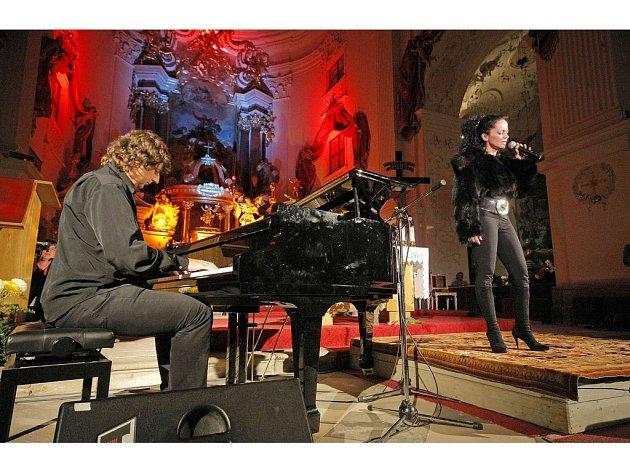 Lucie Bílá vystoupila v neděli v Polné u Jihlavy