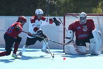 Jihlavští hokejbalisté začali trénovat. Vyhlíží i turnaj, do kterého by se měly zapojit celky z obou nejvyšších soutěží.