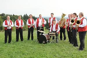 Dechová hudba Vysočanka z Brtnice.