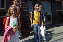 Děti ze základní školy. Ilustrační snímek