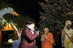 Rozsvícení vánočního stromu v Dolní Cerekvi.