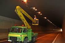 Kvůli opravám a údržbě bude uzavřen Jihlavský tunel.