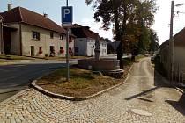 Práce v centru Kamenice stále nejsou hotové, budou pokračovat.