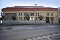 Telčská sokolovna v Masarykově ulici.