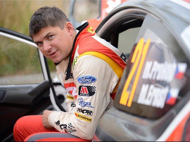 V uplakaném francouzském počasí Martin Prokop cíl kvůli poruše na řízení neviděl.