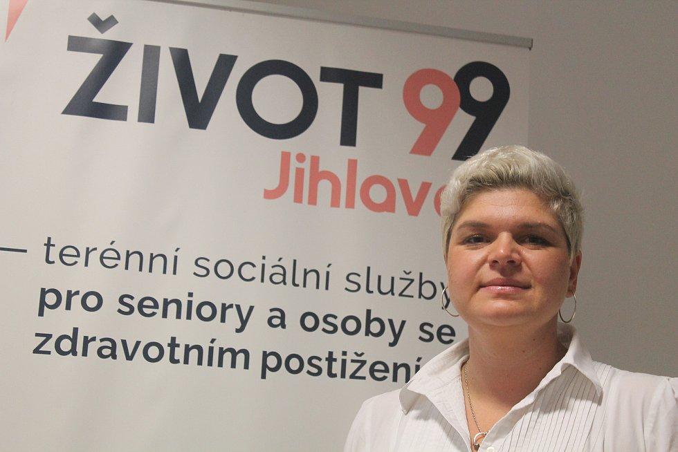 Ředitelka neziskové organizace Život 99 - Jihlava Kamila Vondráková.