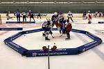 Mladí hokejisté mají v Telči výtečné podmínky pro posouvání své výkonnosti.