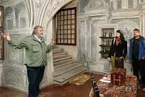 Prohlídka telčského zámku v doprovodu kastelána.