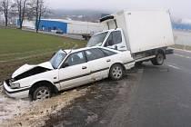 K vážné dopravní nehodě došlo v obci Kostelec na Jihlavsku.