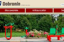 Internetové stránky Dobronína, ilustrační foto
