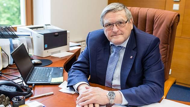 Bývalý hejtman Kraje Vysočina Jiří Běhounek.