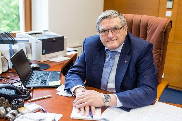 Hejtman Kraje Vysočina Jiří Běhounek.