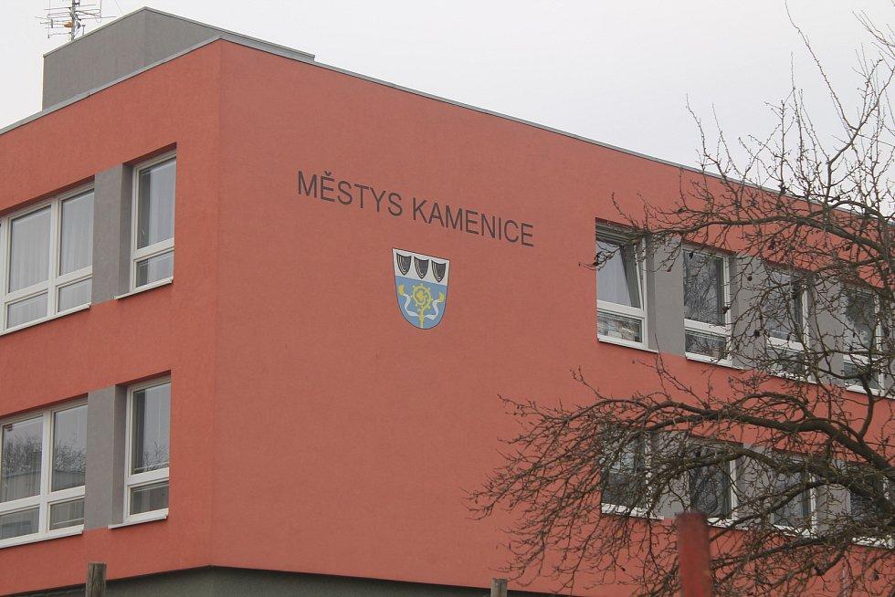 Úřad městyse Kamenice na Jihlavsku.