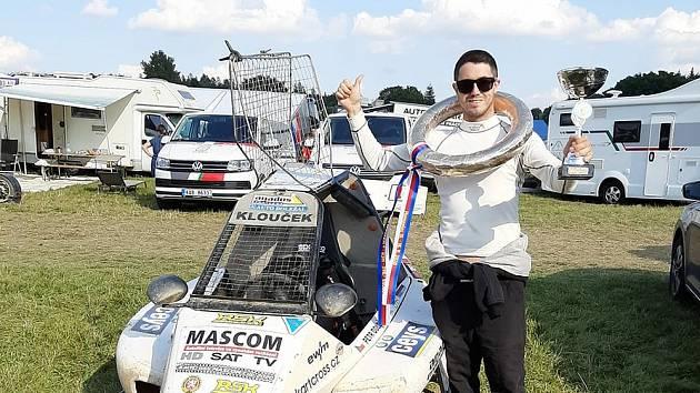 Obhajoba byla lehčí, mám víc zkušeností, tvrdí šampión v kartcrossu Petr Doležal