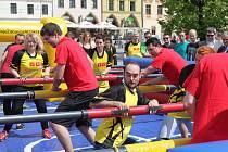 Sport na náměstí.