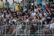 Utkání amerického fotbalu ze dne 3. června mezi Vysočina Gladiators a Přerov Mammoths