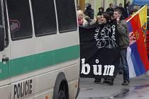 Jeden ze svých posledních větších srazů  v Česku si sympatizanti neonacismu uspořádali v Jihlavě. Bylo to  v sobotu 18. února letošního roku.