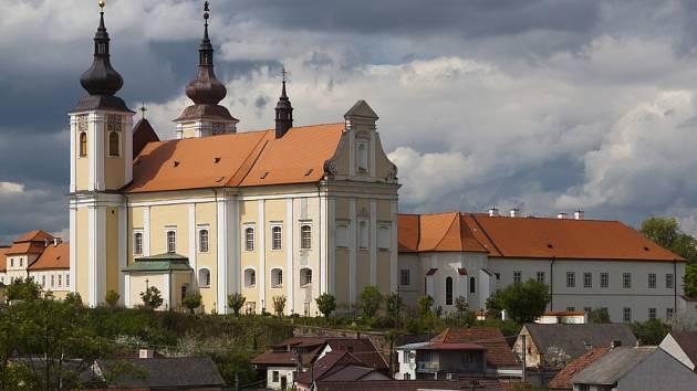 Premonstrátský klášter v Nové Říši. Ilustrační foto.