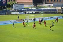 V loňském přípravném utkání podlehla doma Vysočina brněnským fotbalistům vinou zpackané poslední desetiminutovky duelu.